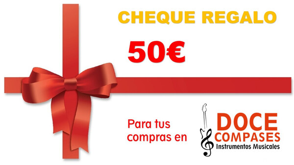 CHEQUE REGALO 50€
